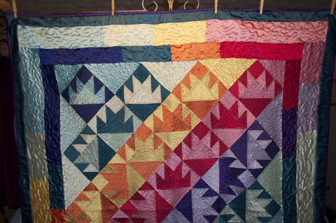 ITEM 001 (Closer View) - Handcrafted Quilt by Jeanine Smith
